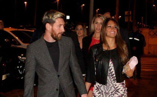Messi llega a Argentina para su boda con Antonella Roccuzo