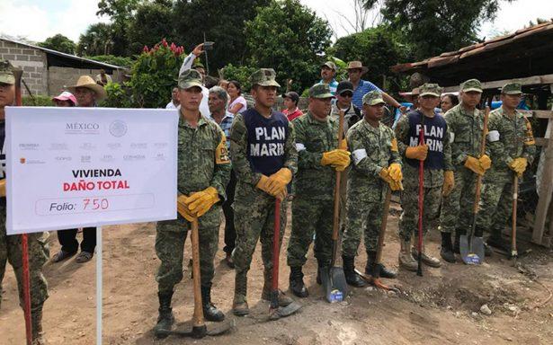 Ánimo y carácter, la petición de Peña Nieto para reconstruir Chiapas