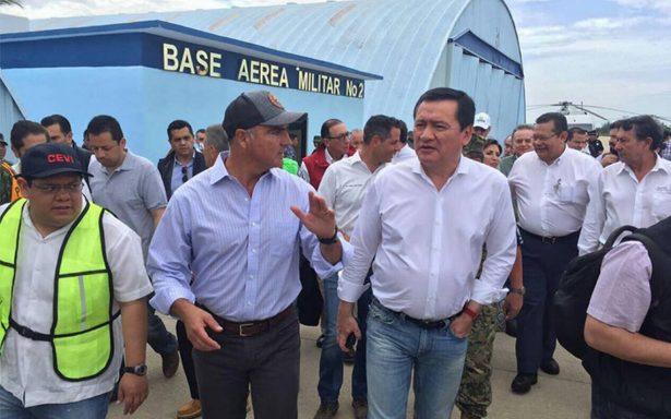 Designan comisión para censar afectados por sismo en Oaxaca