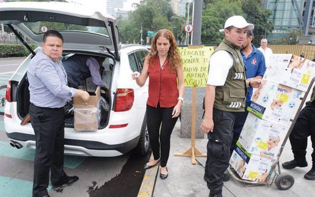 Abre el sector privado sus carteras en apoyo a damnificados del sismo