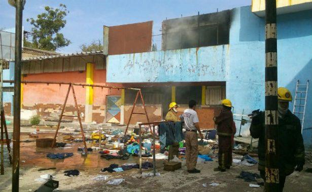"Se incendia albergue ""La Gran Familia"" en Michoacán"