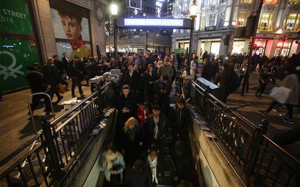 Policía da por terminado confuso incidente en Oxford Circus de Londres