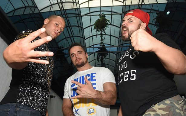 Matt Taven, Juice Robindon y Michel Elgin lucharán en Grand Prix