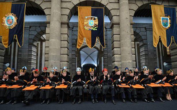 UNAM reconoce a 11 académicos con doctorados honoris causa