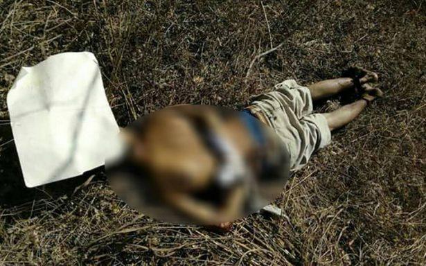 Narco deja huella en Puerto Escondido tras hallazgo de joven ejecutado