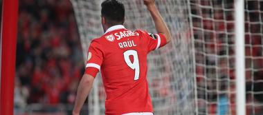 Raúl Jiménez anota en triunfo del Benfica ante el Boavista