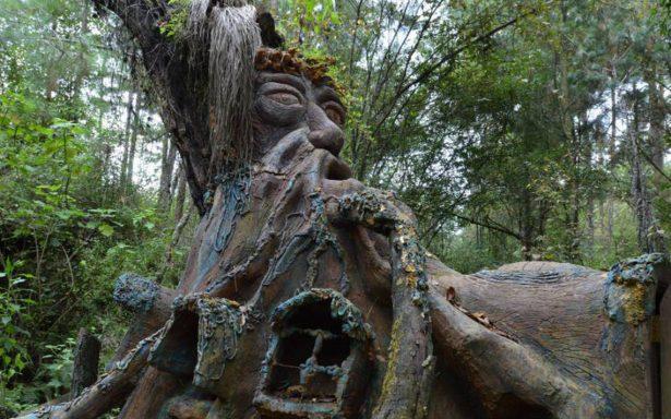 La casa delduende, guardián en los bosques de Ocuilan