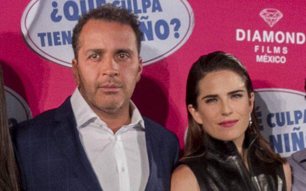 Gustavo Loza with Karla Souza