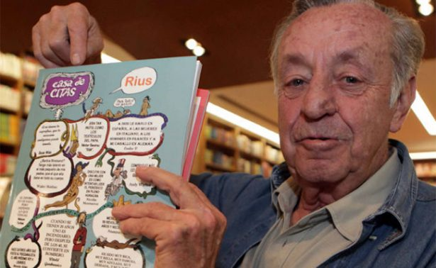 """Fallece Eduardo del Río """"Rius"""", el gran caricaturista mexicano"""