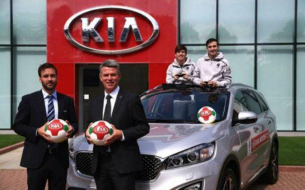 KIA Motors: Anota gol en patrocinio