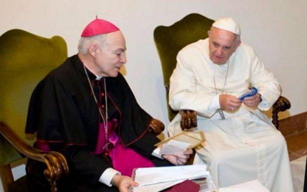 Papa Francisco designa a Carlos Aguiar como nuevo arzobispo primado de México