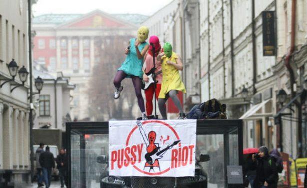 Detienen, de nuevo a dos miembros de Pussy Riot