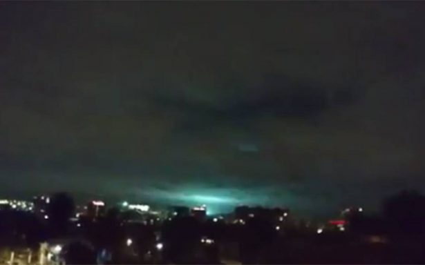 ¿Qué fueron las extrañas luces vistas durante el sismo?