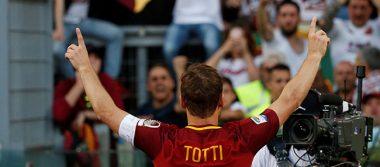 Totti dijo adiós a la Roma