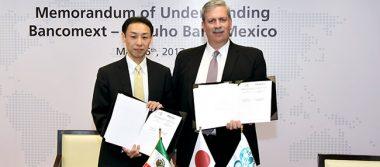 Inicia Bancomext negociaciones con Banco Mizuho para apoyo a empresas japonesas en México