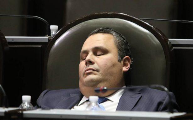 ¿Cuánto duerme un diputado en el pleno?
