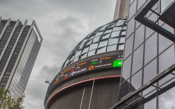 Bolsa Mexicana pierde 3.38% en línea con mercados globales