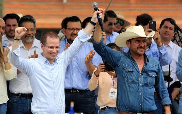 Anaya reconoce que alianzas de Morena y PAN están empatadas en primer lugar