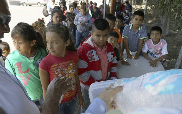 Sube 900% detención de menores migrantes