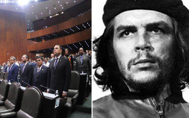 Diputados rinden un minuto de silencio por aniversario luctuoso del 'Che' Guevara