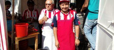Regalan tacos y tortas por triunfo de Chivas
