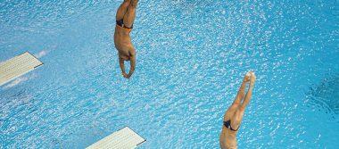 Rommel Pacheco y Jahir Ocampo calificaron a la final de trampolín