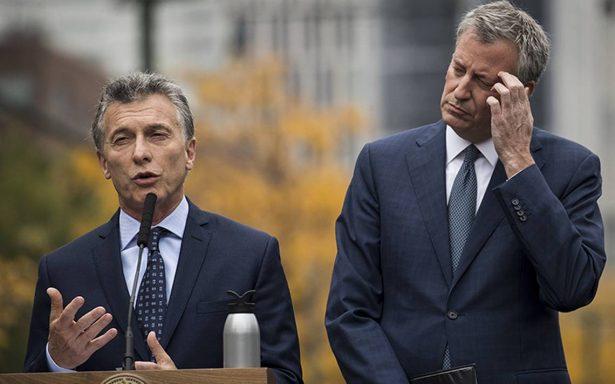 Macri lamenta en EU muerte de argentinos en atentado de Nueva York