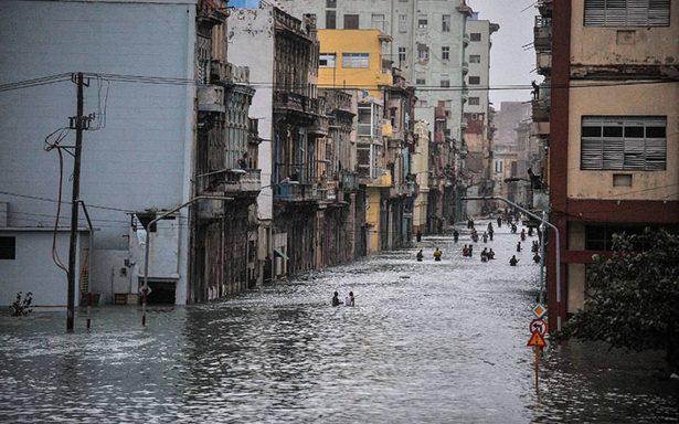 Furia de huracán Irma afecta a dos millones de cubanos en La Habana
