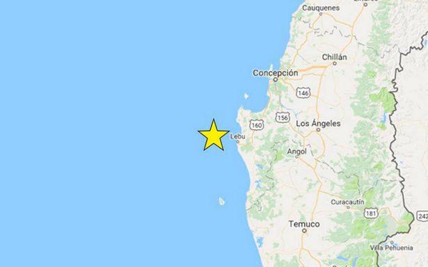 Sismo de 4.8 sacude región sureña de Chile; descartan tsunami