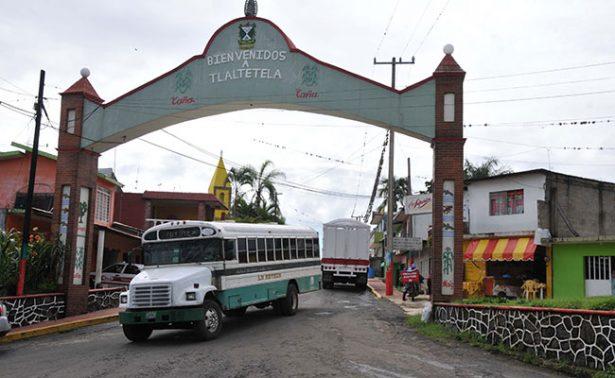 Tlaltetela, la pequeña localidad donde los pobladores se paralizan