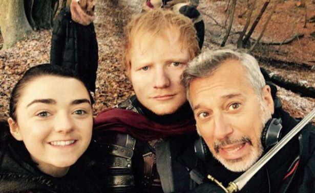 [Video] Ed Sheeran causa polémica por aparición en Game of Thrones