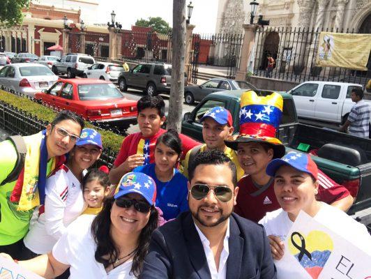 Comunidad venezolana en Panamá protesta contra el gobierno de Maduro