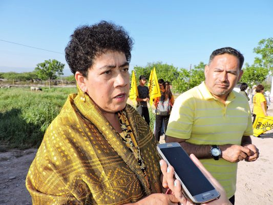 Resultado de imagen para Mary Telma Guajardo, candidata del PRD al gobierno de Coahuila.
