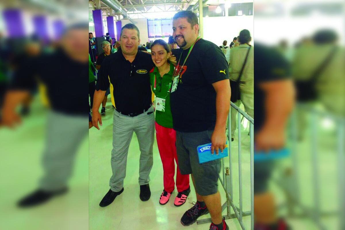 Nicole Benítez, dio a Coahuila una medalla más de tiro deportivo, luego de lograr la plata en los 10 metros, en pistola de aire.