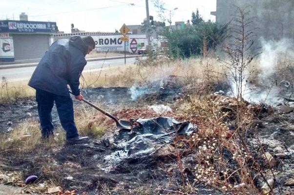 Contradictoriamente, febrero el mes con más incendios urbanos en Monclova