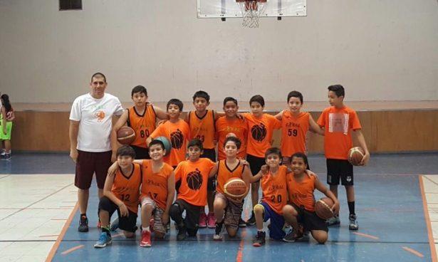 Gran nivel han demostrado los equipos de basquetbol de Esbal logrando llegar a las finales en cada una de las categorías en las que participó.
