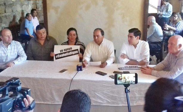 Reafirman invitación para la concentración ciudadana en Monclova