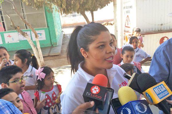 Yareli López Batres, coordinadora del Programa de Niñas y Adolescentes Embarazadas del DIF estatal.