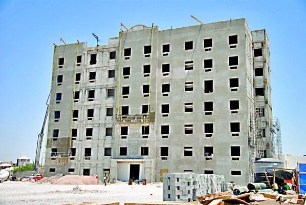 Avanza construcción de nuevo hotel frente a Residencial Senderos