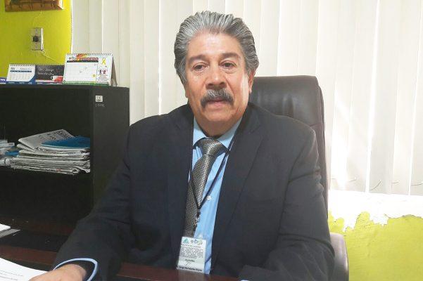 Doctor Jorge Hernández, titular de la Jurisdicción Sanitaria No. 2.