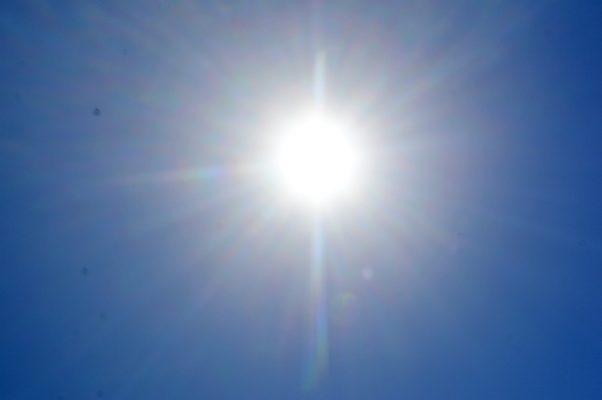 Se espera que el termómetro marque los 41 grados, hoy