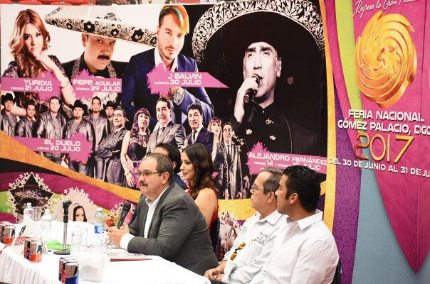 Crece expectativa ante proximidad de Feria Nacional de Gómez Palacio