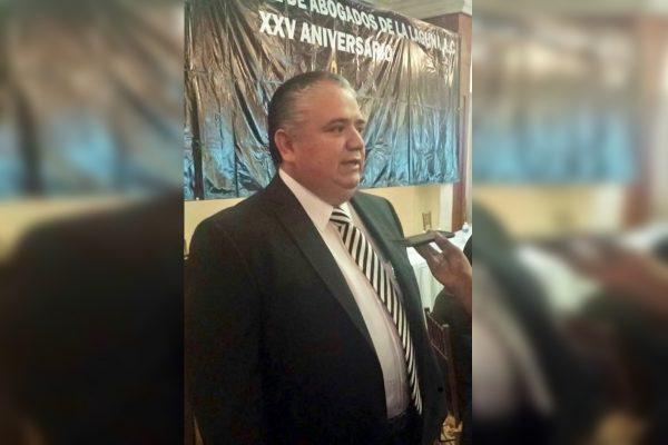 El abogado debe ser pilar en la sociedad: Jesús Sotomayor Hernández
