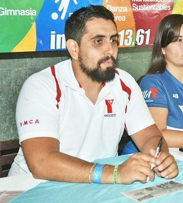 Jorge Garate Mayren, secretario general de la YMCA en Torreón.