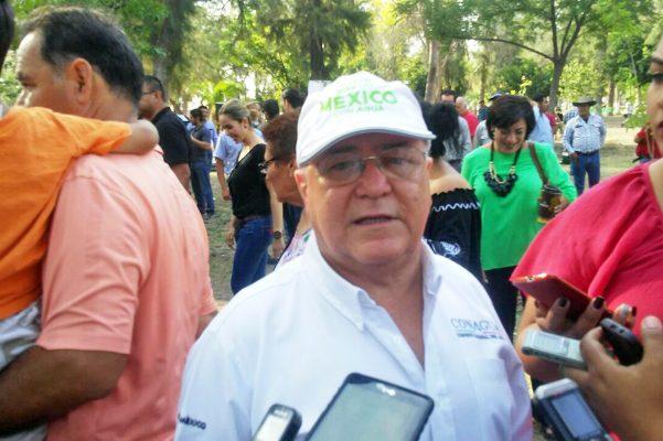 Ricardo Álvarez García, director del Organismo de Cuenca Cuencas Centrales del Norte de la Conagua.