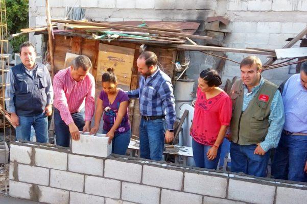 Emprenden en Torreón nuevas acciones de mejora a la vivienda