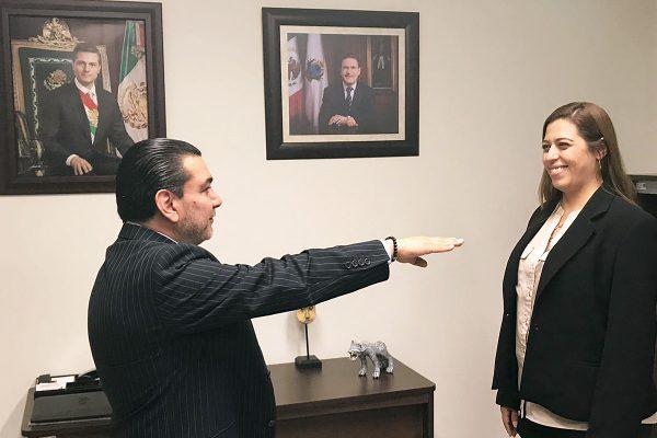 Hay nuevo presidente en la Junta Local de Conciliación y Arbitraje