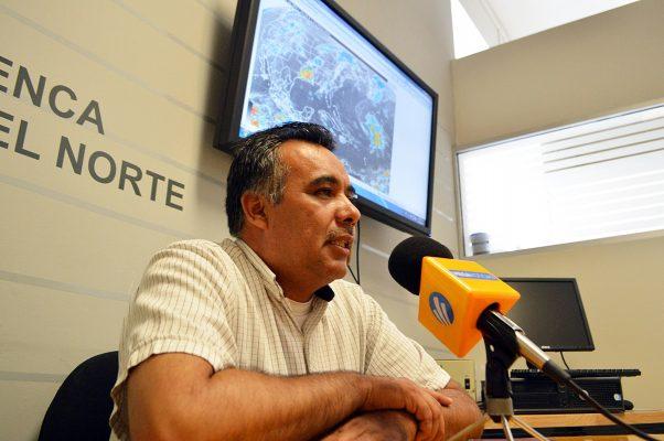 José Abad, previsor del clima de la Conagua.