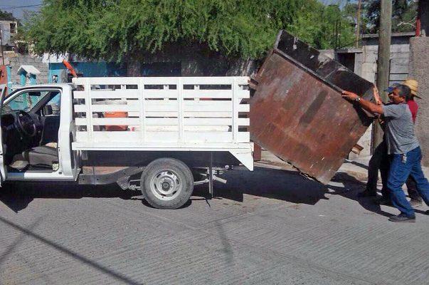 Suman casi dos mil contenedores de basura en Monclova