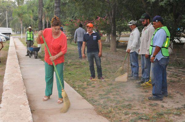 Inician trabajos de rehabilitación en el Parque Nacional Raymundo
